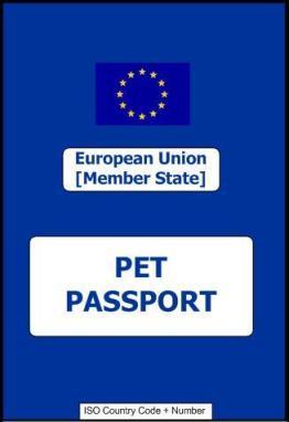 Selline näeb välja lemmikloomapass.