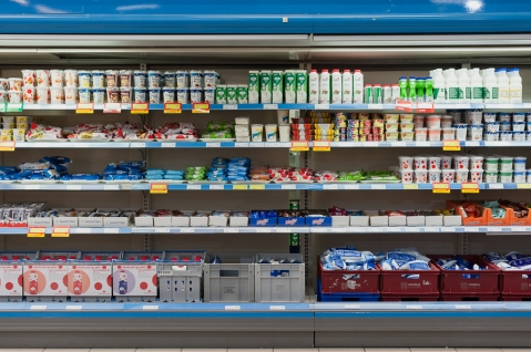 Piimatoodetel palju sooduspakkumisi. Foto: K. Press