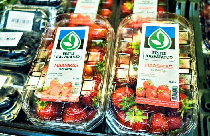 Need Pärna Talu maasikad kannavad Eesti Aiandusliidu kodumaisus- ja kvaliteedimärki